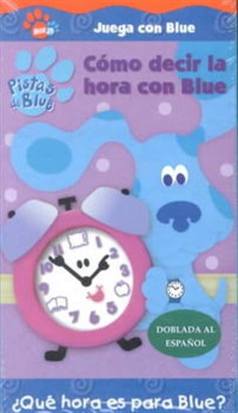 PISTAS DE BLUE:COMO DECIR LA HORA CON Just $5.77