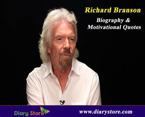 biography of richard branson richard branson biography inspiration quotations