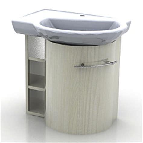 Kitchen Wash Basin Models 3d Sanitary Ware Wash Basin N041211 3d Model Gsm