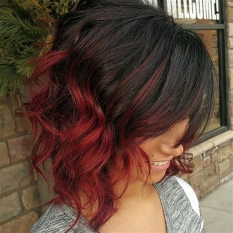 Ombre short red hair 40 short ombre hair ideas hairstyles update