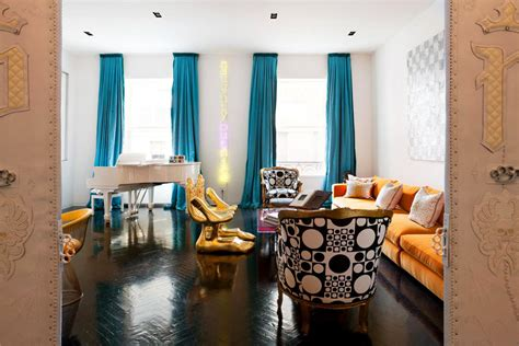 manhattan triplex interior design  jonathan adler idesignarch interior design
