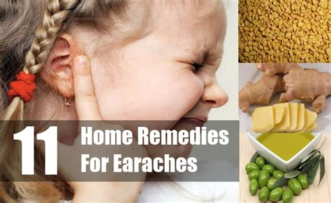11 earache home remedies treatments cures
