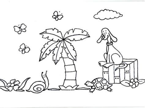 imagenes de animales y plantas para colorear dibujos para colorear para ni 241 os o infantiles son l 225 minas