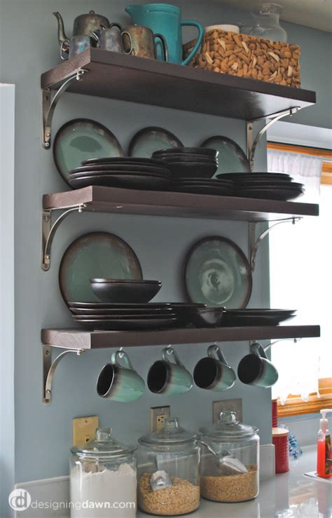 Kitchen Shelf With Mug Hooks Shelves With Hooks Corner Shelf With Hooks Foter With