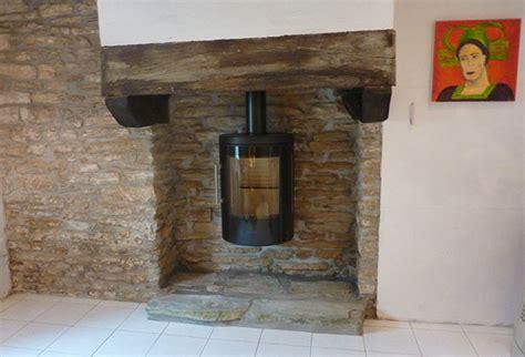 poele a bois pour cheminee ouverte energies naturels