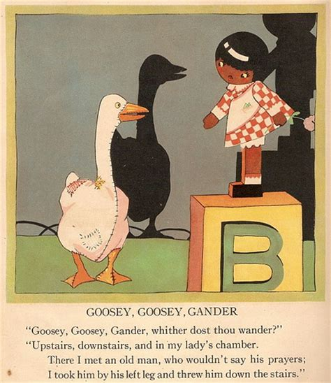 goosey books nursery rhymes images goosey goosey gander wallpaper and