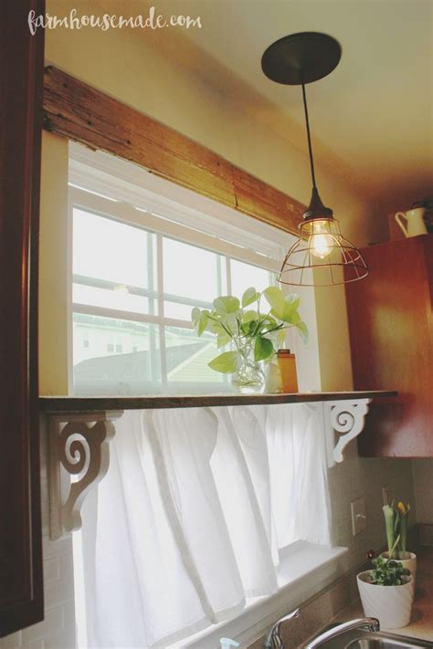 kitchen curtain ideas small windows 25 best ideas about shelf over window on pinterest