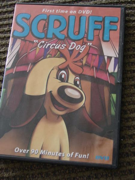 scruff circus dog dvd  dvds movies