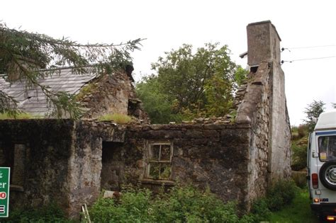 Cottage Restoration Ireland by Before Restoration Work On A Traditional Cottage By