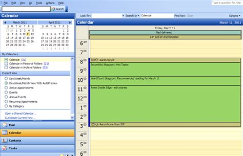 My Calendars Outlook 5 Tips For Using Outlook Calendar To Manage Your Work Day