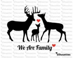 Bow Hunting Window Decals deer family decal etsy