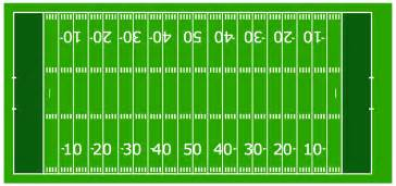 7 best images of free printable football field football
