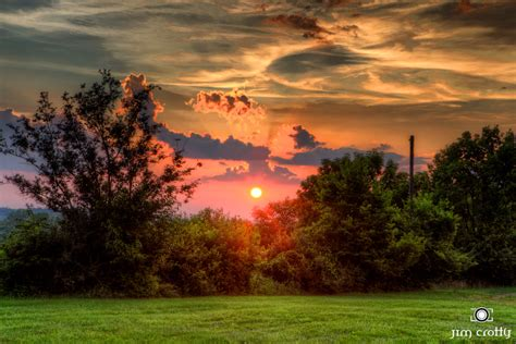 july sunset on the farm ohio landscape photography by ji flickr