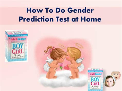 ppt how to do gender prediction test at home powerpoint