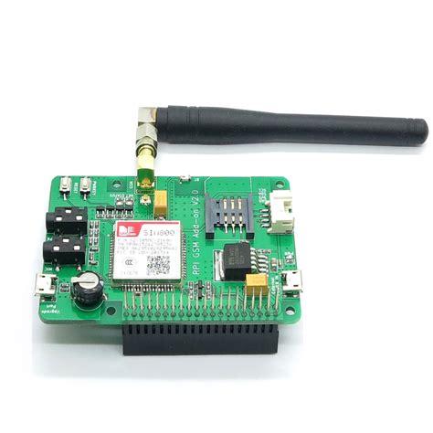 raspberry module raspberry pi sim800 gsm gprs r2 module shield for rpi