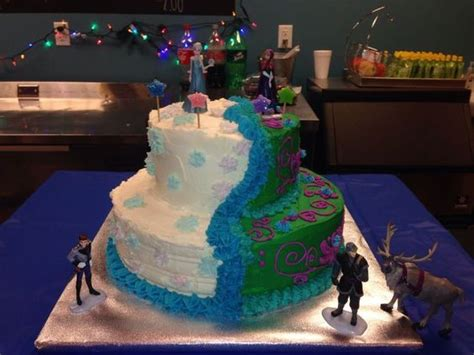 disneys frozen ice cream cakes disney frozen cakes  walmart party ideas pinterest