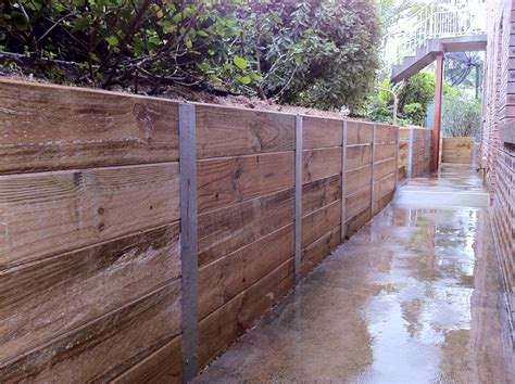 Retaining Walls Sleepers retaining walls nature coast landscapes