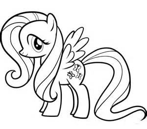 fluttershy coloring pages 7 my pony coloring pages