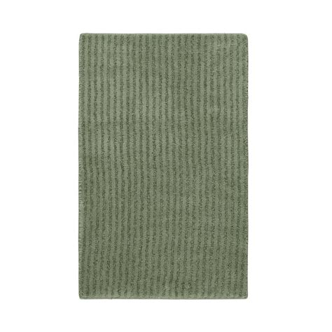 Home Depot Bathroom Rugs Garland Rug Fern 24 In X 40 In Washable Bathroom Accent Rug She 2440 08 The