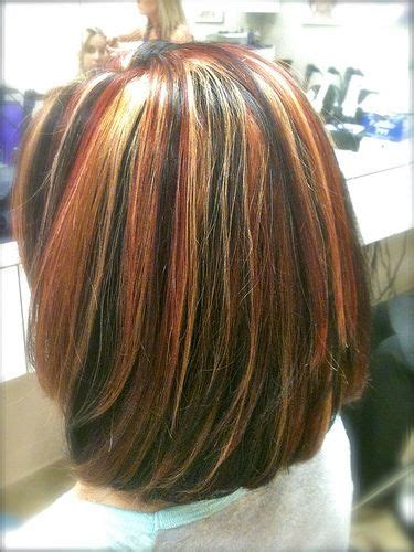 tri color hairstyles tri color highlights on shoulder length hair my style