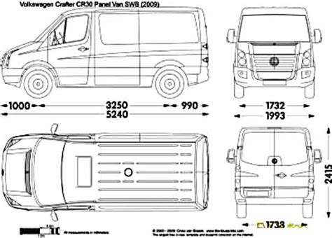volkswagen crafter dimensions etc tuning auto accessories web catalog online