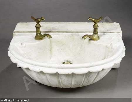 vasque lavabo sold by tajan on tuesday june 12 2007