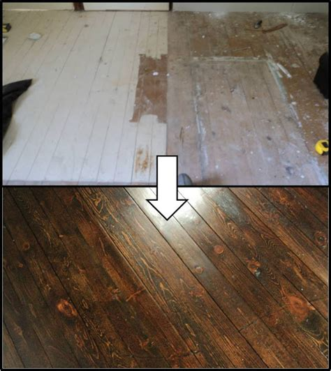 Refinishing Floors by His And Hers Houston We A Walnut Bedroom Floor