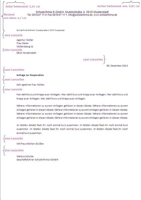 Bewerbung Anschreiben Din 5008 Zeilenabstand Downloads Gr 252 Nderkids