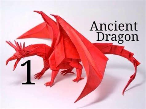 Origami Ancient Tutorial - origami ancient tutorial satoshi kamiya part 1