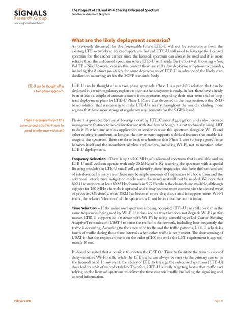 order spectrum wifi srg whitepaper the prospect of lte and wi fi