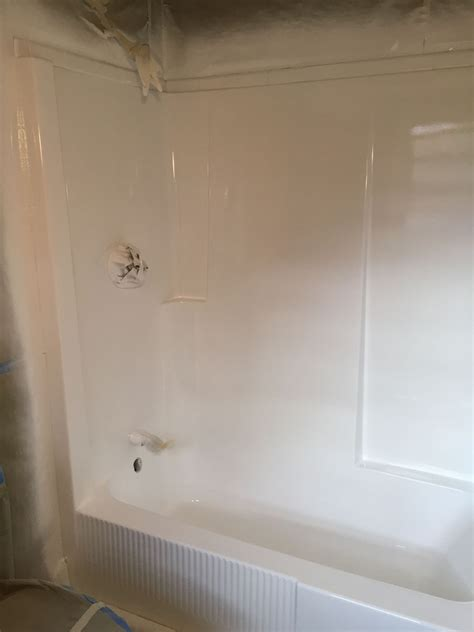 54 bathtub shower combination shower stalls fiberglass units bay state refinishing