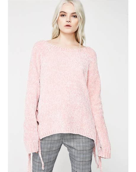 Princess Lace Sweater binding feelz lace up sweater dolls kill