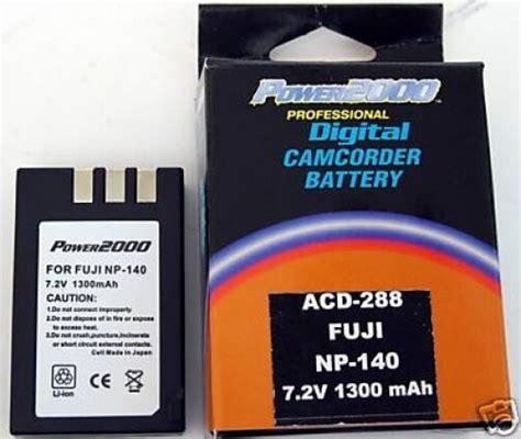 Battery Fuji Np 140 Finepix np 140 np140 15772763 battery for fujifilm fuji s100 ebay