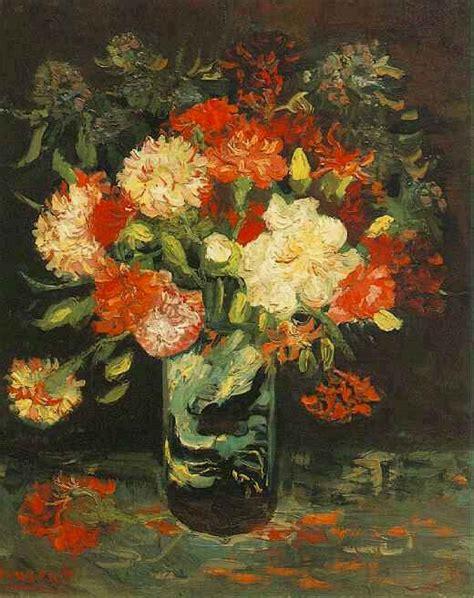 garofani in vaso garofani carnations vincent gogh il giardino