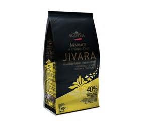 jivara 40 chocolate couverture from valrhona milk