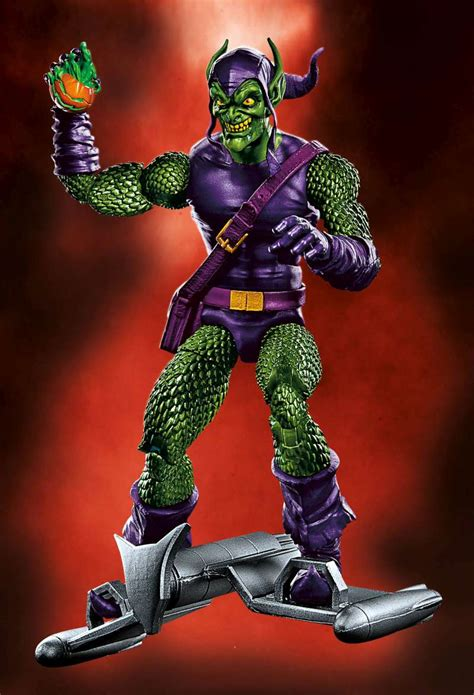 Marvel Legends Green Goblin No Baf Spider Baf Sandman Wave Sdcc 2016 Official Hasbro Marvel Legends 6 Doctor