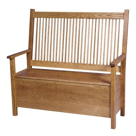 deacon bench with storage amish mission deacon s bench w storage