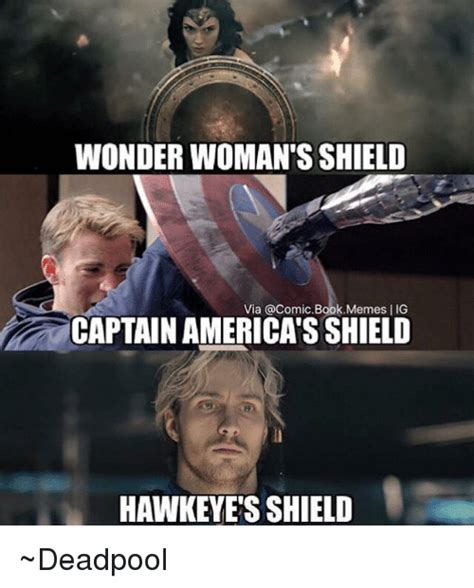 Captain America Kink Meme - wonder woman s shield via a comic bookmemes lig captain