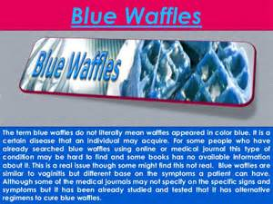 what is a blue waffle