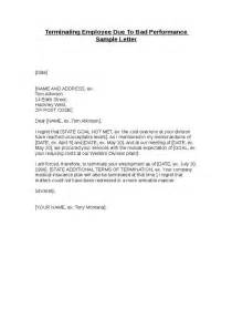 Termination Letter To Employee For Poor Performance by Best Photos Of Sle Termination Letter For Performance Poor Performance Letter Sle