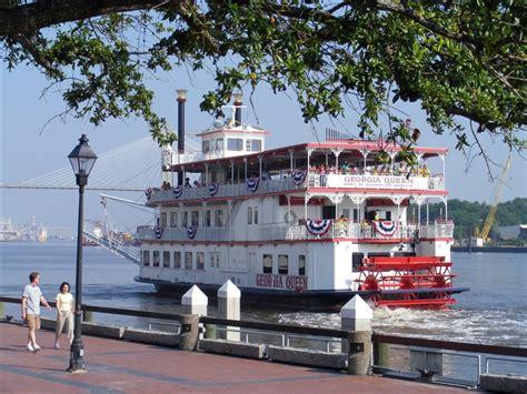 savannah boat tours riverboat dinner cruise tour on savannah river via tour sales
