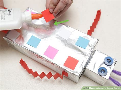 How To Make A Paper Robot Step By Step - how to make a paper robot step by step 28 images best