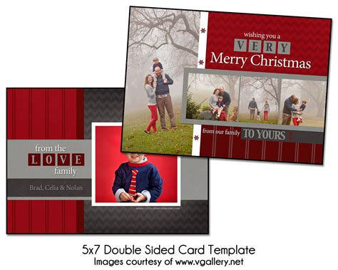 two sided card template psd card template block 5x7 sided