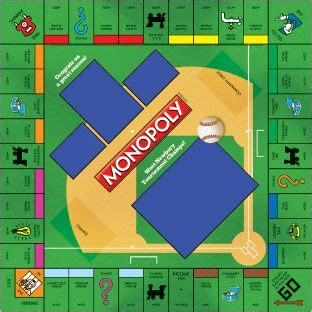 custom monopoly board template baseball monopoly customize it with your own pictures
