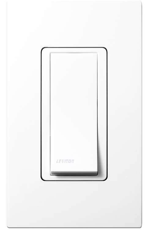 leviton wireless light switch leviton wss0s p0w wireless self powered remote switch