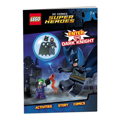 faster than lightning lego dc comics heroes activity book with minifigure lego dc heroes books lego 174 dc comics heroesenter the ameet