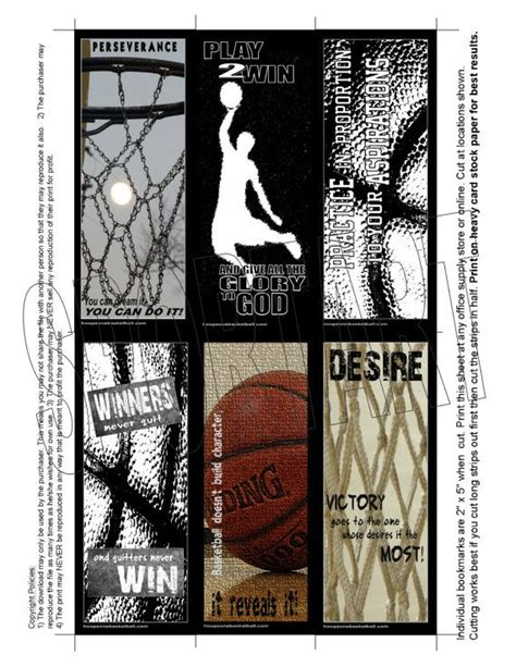 printable basketball bookmarks 25 best destiny birthday invitations and party favors