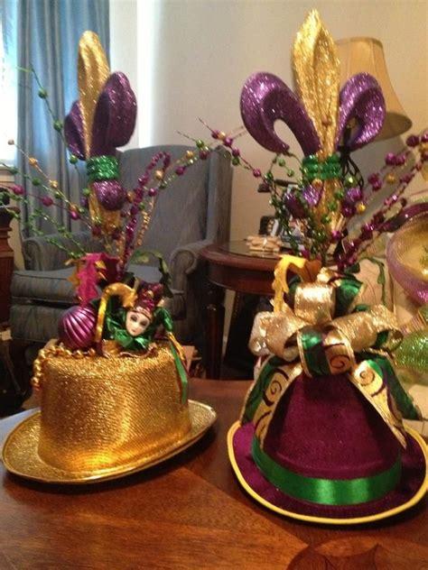 183 best images about mardi gras centerpieces on
