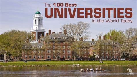 ranking of best universities the 100 best universities in the world today the best
