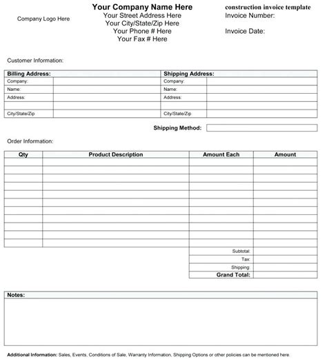 Billing Forms Template by Billing Form Template Kkey Me